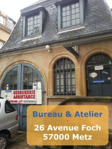 Artisan Serrurier 26 Avenue Foch 57000 Metz